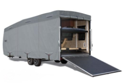 Expediton S2 Toy Hauler RV Covers (Travel Trailer body)