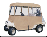 Classic Accessories Fairway 2-Person Deluxe 4-Sided Golf Cart Enclosure