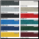 Color Pallette of WindStorm Boat Covers