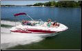 WindStorm Cover for Deck Boats Walk-thru Windshield & Side Console