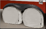 Goldline RV Wheel Covers