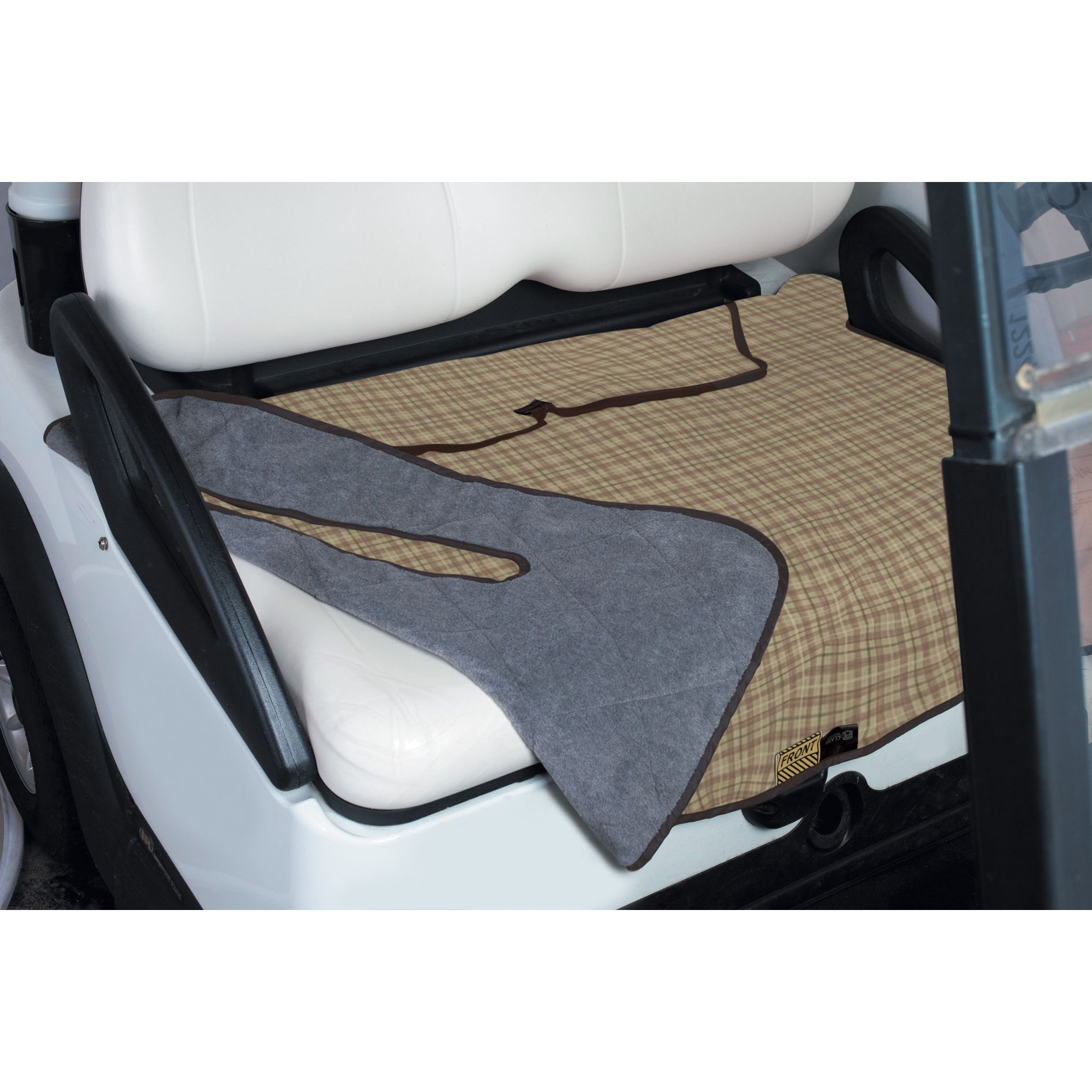 Classic Accessories Golf Cart Seat Blanketsfeature: Quilted top with plush fleece backing; Wipe-clean, water-resistant, heavy-duty fabric;