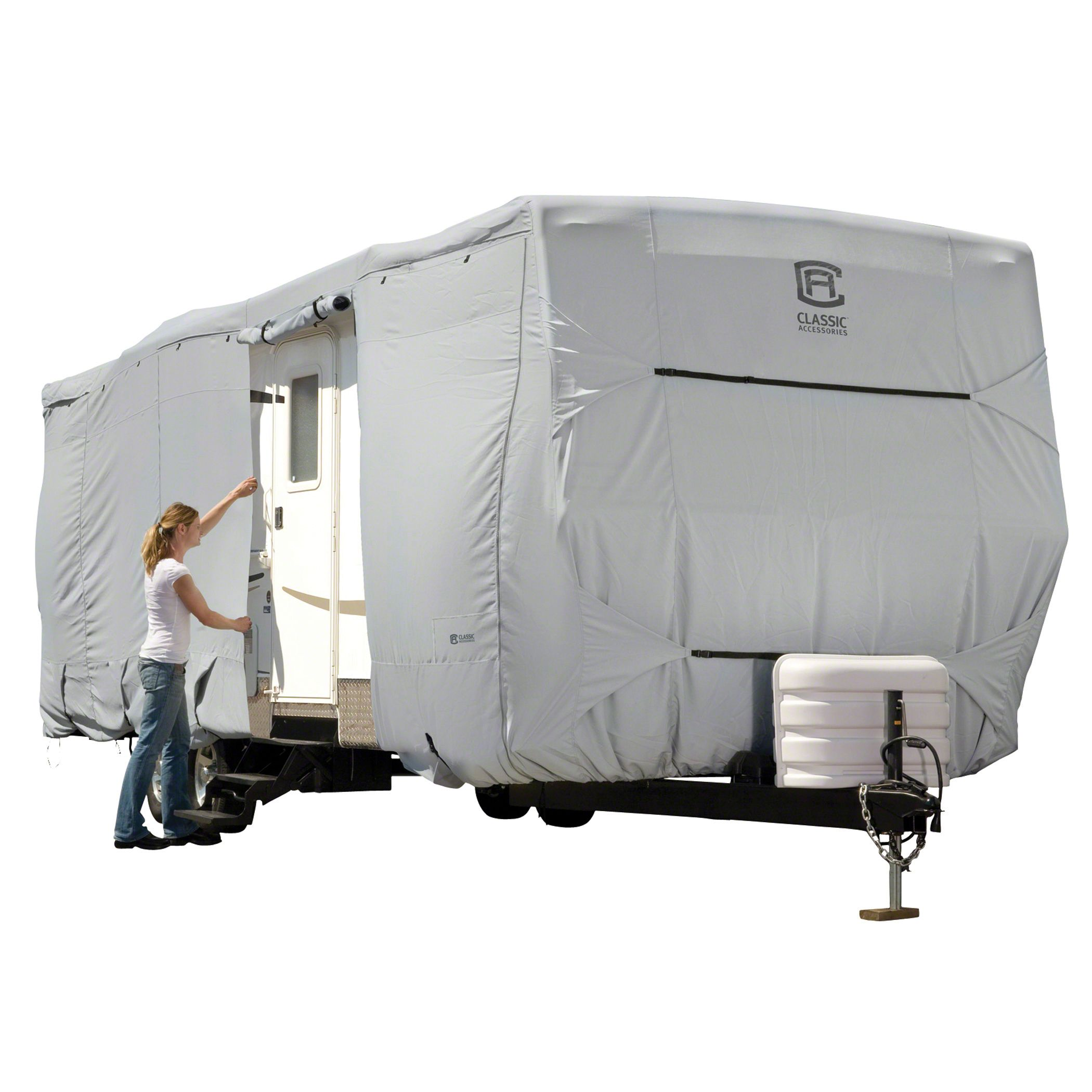 Travel Trailers With Outdoor Kitchens: Perma Pro Travel Trailer RV Covers