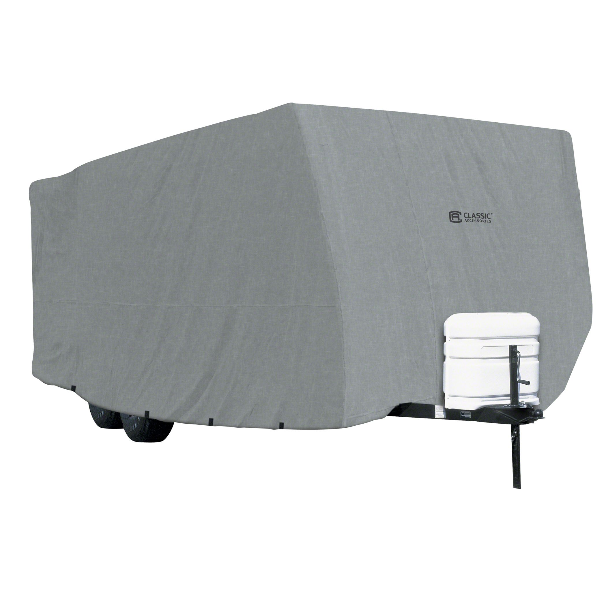 New And We Think The Best RV Cover Is The ADCO 52245 Designer Series SFS Aqua Shed Travel Trailer RV Cover Not Only Will The Cover Protect Your Vehicle For Years To Come, You Would Not Have To Spend Too Much Time In Cleaning Your