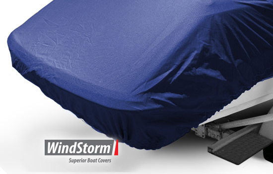 Windstorm Cover For All Season Pontoon Boat With Rails