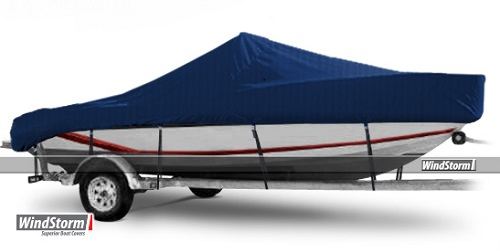 Windstorm Cover For Aluminum V Jon Boat With High Center