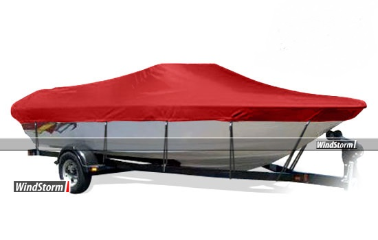 Windstorm Cover For Tri Hull Runabout Boat With Windshield