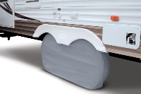 RV Dual Axle Wheel & Tire Cover