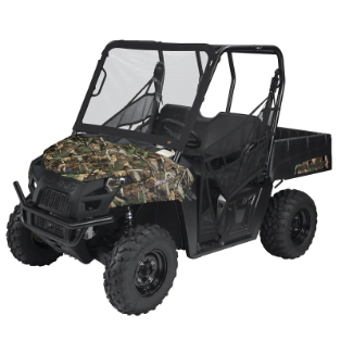 Polaris Ranger 6X6 800, 800 Full Size, Crew 800 and 900 Windshields