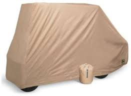 Greenline Converted Two Passenger Storage Cover with flip down seat