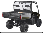Polaris Ranger 6X6 800, 800 Full Size, Crew 800 and Crew Diesel Rear Window