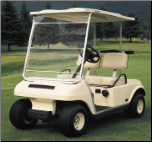 Portable Golf Car Windshield