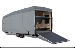 Expedition S2 Toy Hauler RV Covers (Travel Trailer body)