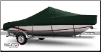 WindStorm Cover for V Hull Center Console Boat with Poling Platform