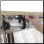 Doors and windows roll open and secure with rip-n-grip straps