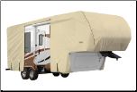 Goldline 5th Wheel/Toy Hauler RV Cover