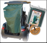 Golf Bag/Cart Rain Covers & Canopies