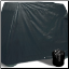 Jet black 2 passenger storage cover