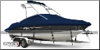 WindStorm Cover for Deck Boats with Ski Towers