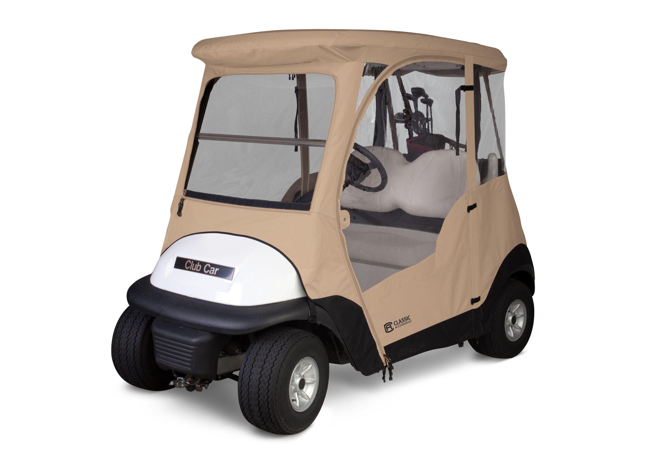 Fadesafe Club Car Precedent Golf Cart Enclosure